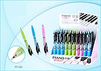 Ручка шариковая Piano PT-181 (синяя, автомат)