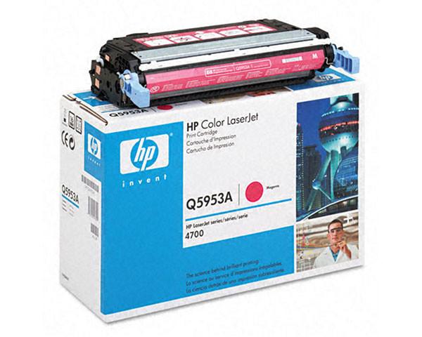 Заправка картриджа HP Color LaserJet 4700 Magenta (Q5953A)
