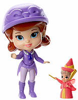 Принцесса София и Флора, мини-кукла, Disney Sofia the First, Jakks Pacific
