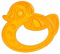 Прорезыватель для зубов Утка оранжевая, Canpol babies