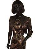 Костюм чёрно-золотой с болеро Арт.927а р.38,40,42,44,46,48, фото 2