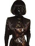 Костюм чёрно-золотой с болеро Арт.927а р.38,40,42,44,46,48, фото 3