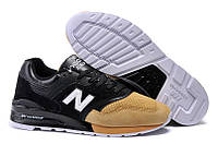 Мужские кроссовки New Balance 997 Salmon Series Unisex Running Shoes Black/Grey/Orange M997PRMR