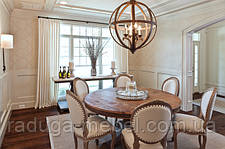 Подбор формы и размера обеденного стола .