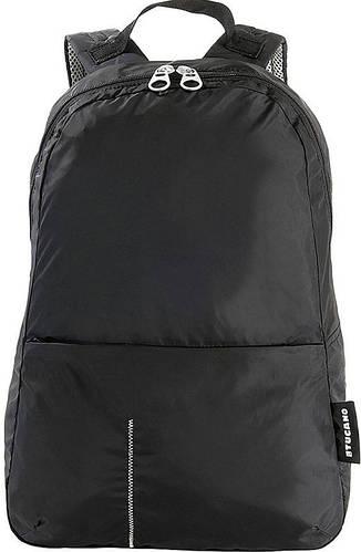 Мужской раскладной рюкзак-сумочка для путешествий Tucano COMPATTO XL PACKABLE BLACK (BPCOBK) черный