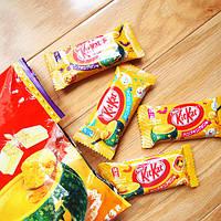 """Шоколадный батончик """"Kitkat"""" со вкусом тыквенного пудинга"""