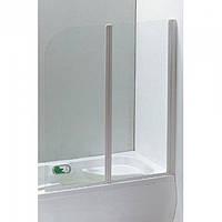 Шторка на ванну Eger 120x138 (599-121W), цвет профиля белый