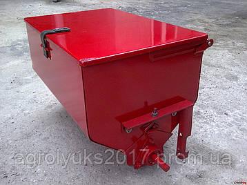 Банка туковая-Ящик метал\пластик, фото 2