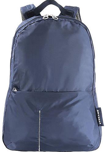 Дорожный раскладной рюкзак-сумочка для парней Tucano COMPATTO XL PACKABLE (BPCOBK-B) синий