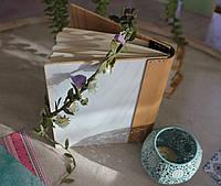 Блокнот.Деревянный блокнот.Подарунок.Обкладинка з дерева.Обложка деревянная для тетради.Подарок креативный.