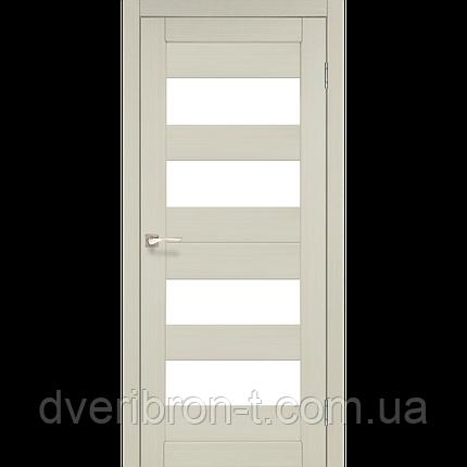 Двери Корфад Porto PR-07 беленый дуб , фото 2
