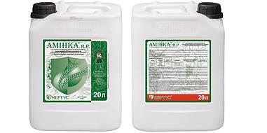 Гербицид Аминка,  Нертус Венгрия, д.в. 2,4-Д аминная соль 600 г/л, пшеница, ячмень, кукуруза