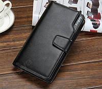 Мужской черный клатч Baellerry Business (портмоне, кошелек Баелери Бизнес)