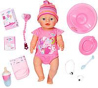 Кукла Baby Born Очаровательная малышка (43 см, с аксессуарами), Zapf