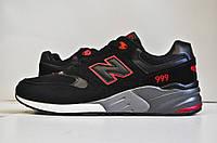 Мужские кроссовки New Balance 999 Black/Gray/Red