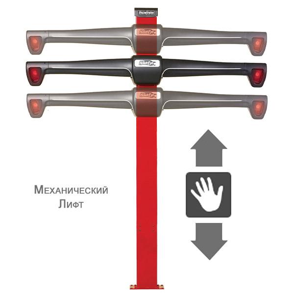 Комплект для установки механического лифта на стойку 3-D стенда РУУК