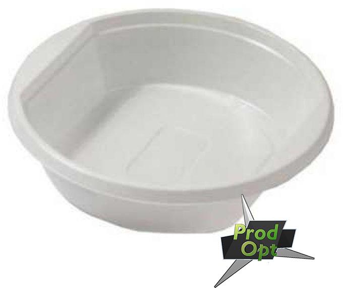 Тарілка для супу глибока біла (100шт)