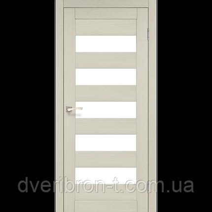 Двери Корфад Porto PR-08 беленый дуб , фото 2