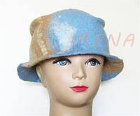 """Валяний капелюшок """"Саванна"""""""