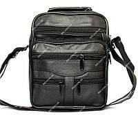 Вместительная кожаная сумка для мужчин (881)