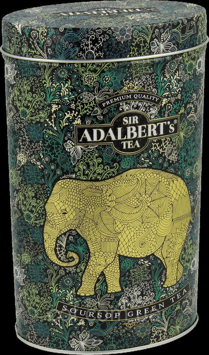 Чай зеленый заварной Sir Adalbert's Soursop Green 110г