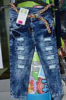 Стильные джинсы для юных модниц