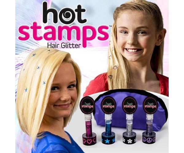 Печать тату для волос Hot Stamps
