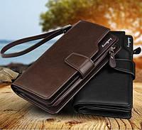 Мужской портмоне коричневый Baellerry Business (кошелек Баелери Бизнес)