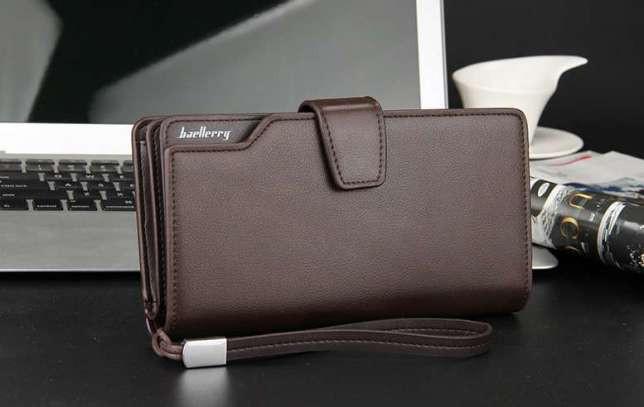 3727220df7b7 Мужской клатч Baellerry Business коричневый (портмоне, кошелек Баелери  Бизнес) - Мегасвит в Киеве