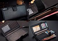 Коричневый мужской кошелек Baellerry Business (портмоне, клатч Баелери Бизнес)