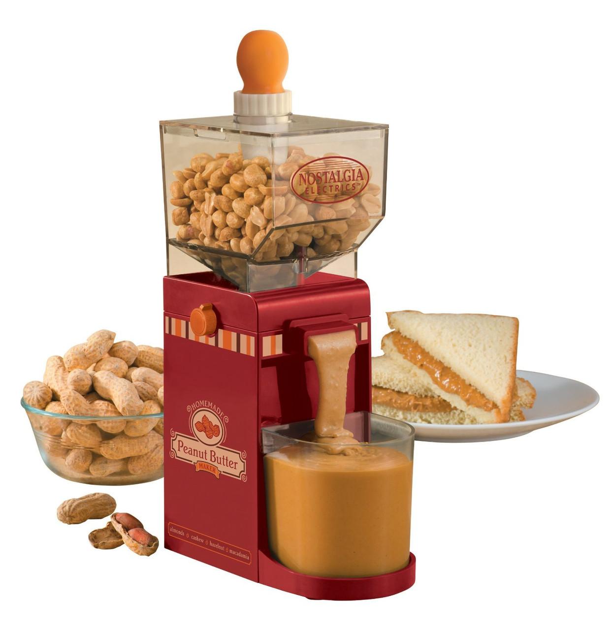 Аппарат для приготовления арахисового Peanut Butter Maker Nostalgia Electrics - Интернет магазин Zakupasik в Одессе