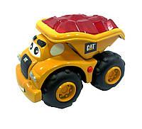 Самосвал Гарри со светом и звуком, инерционная техника САТ для малышей, 16 см, Toy State