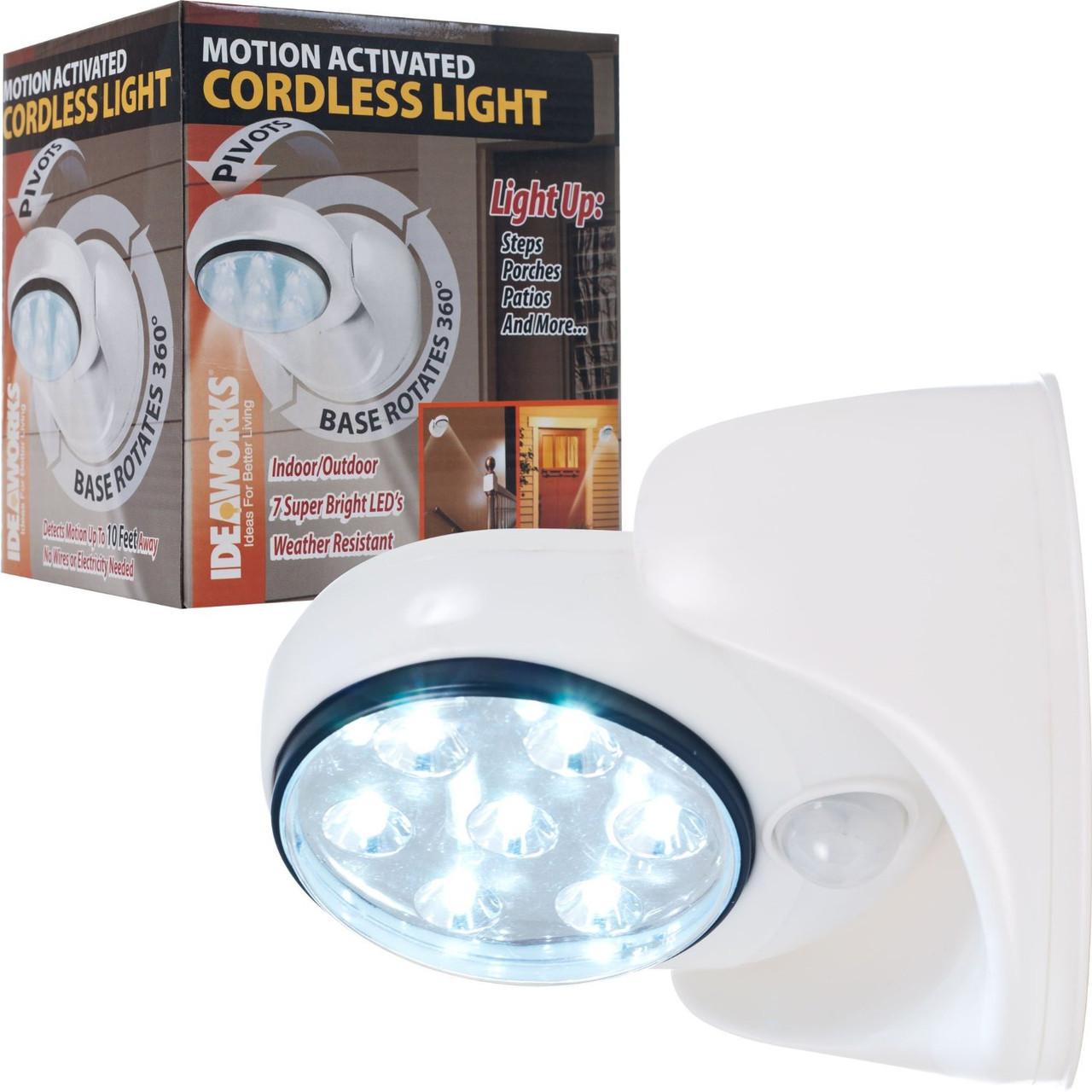 Лампа с датчиком движения Cordless Light, фото 1