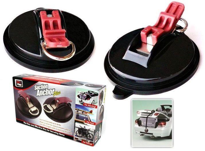 Присоски для крепления на автомобиле Suction Anchor Plus