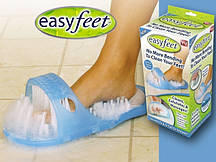 Массажные тапочки для душа с пемзой Easy Feet Изи