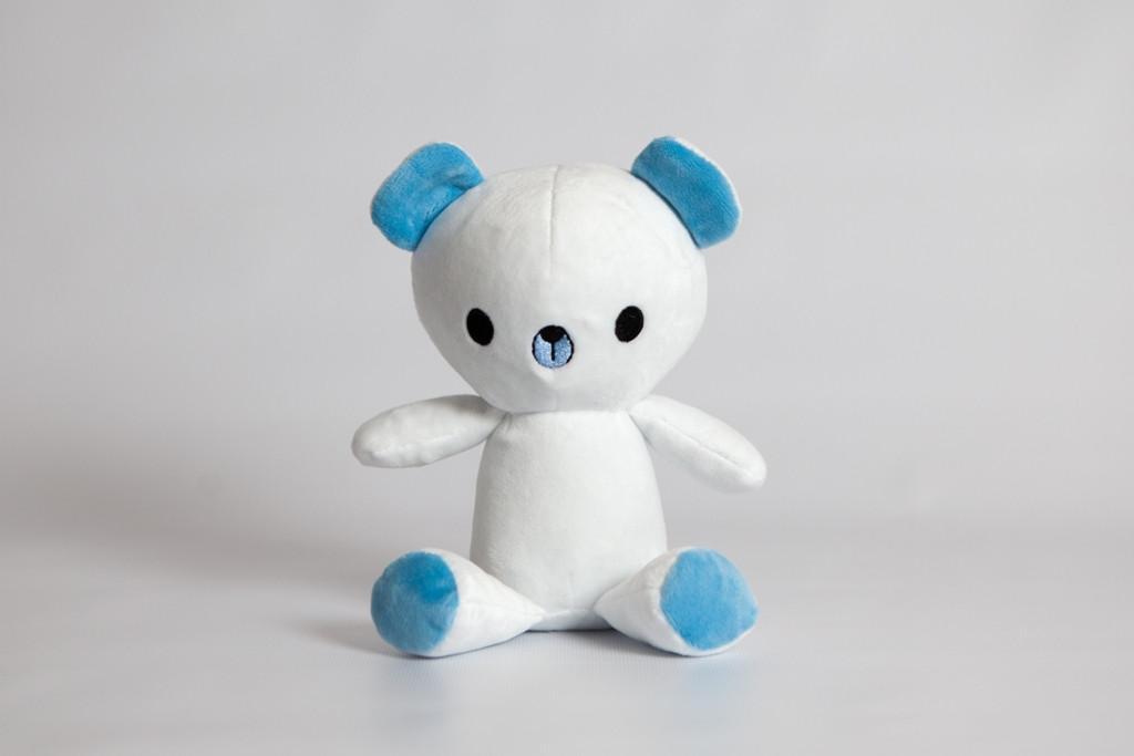 Мягкая игрушка Strekoza малыш мишка Юппи 21см белый