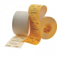 Наждачная бумага SMIRDEX Рулон оранжевый 116мм*1-50м POWER LINE 820