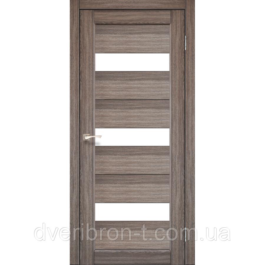 Двері Корфад Porto PR-11 дуб грей