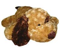Собака, с коричневым ухом, мягкая игрушка 56 см. GranD