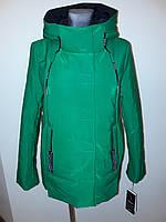 Куртка женская весна зеленая Jarius 17-099