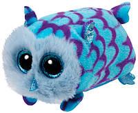 Сова голубая Mimi, мягкая игрушка 12 см, Teeny Tys, TY