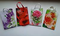 Пакет сумочка подарочный 8*12 бумажный микс