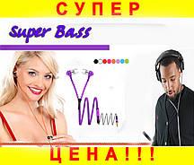 "Наушники с микрофоном Zipper ""Супер Бас"""