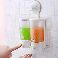 Двухбаковый дозатор мыла Soap Dispenser
