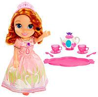 София с набором для чаепития, кукла, Disney Sofia the First, Jakks Pacific