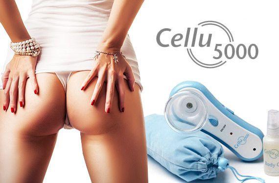 Вакуумный массажер Cellu 5000 - аналог популярного Cellules (Целлюлес)
