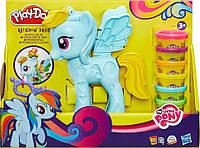 Стильный салон Рэйнбоу Дэш, набор с пластилином. My Little Pony