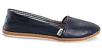 Эспадрильи Toms (black/navy) - 05z женские