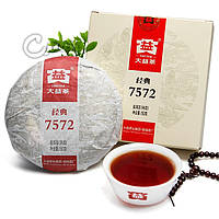 """Чай ПУЭР """"7572"""", Чайная фабрика Мэнхай, 2013 год"""