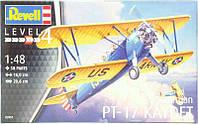 Тренировочный самолет Stearman P-17 Kayde; 1:48, Revell